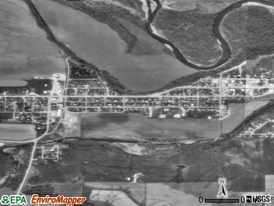 Elgin satellite photo by USGS