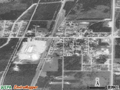 Athol satellite photo by USGS