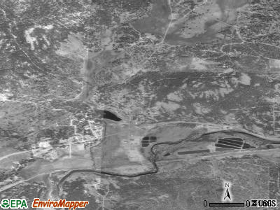 Delleker satellite photo by USGS