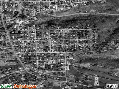 Patterson Heights satellite photo by USGS
