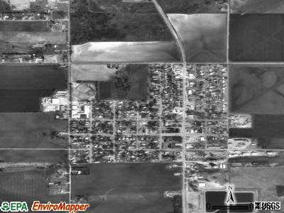 Fort Cobb satellite photo by USGS