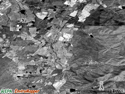 Sherando satellite photo by USGS