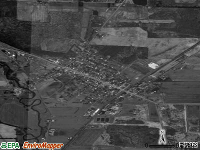 South Dayton satellite photo by USGS