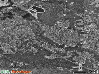Old Bridge satellite photo by USGS