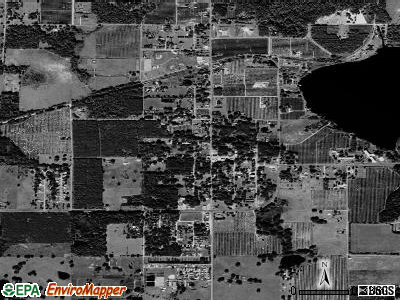 Webster satellite photo by USGS
