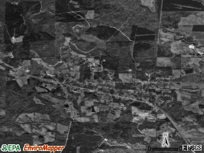 Lisman satellite photo by USGS