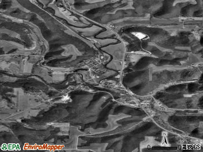 Soldiers Grove satellite photo by USGS