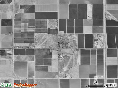 Stanfield satellite photo by USGS