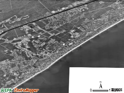 Myrtle Beach satellite photo by USGS