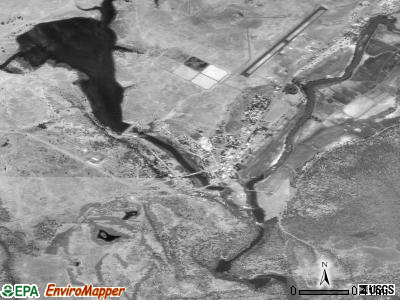 Fall River Mills satellite photo by USGS