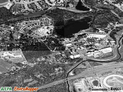 Upper Marlboro satellite photo by USGS