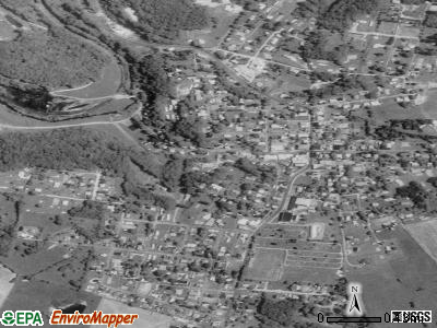 Masontown satellite photo by USGS