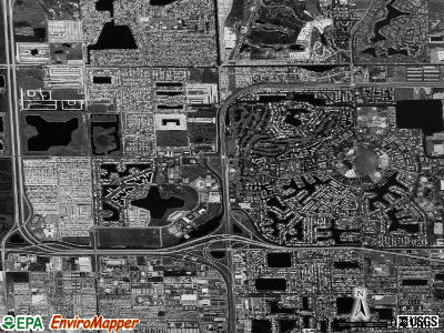 Miami Lakes satellite photo by USGS