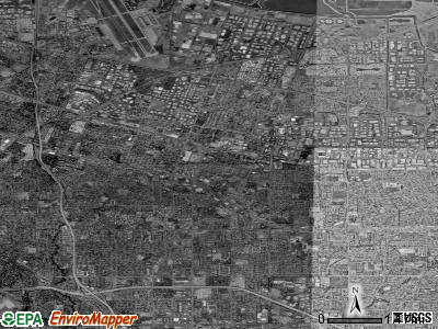 Sunnyvale satellite photo by USGS