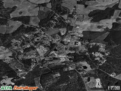 Ansonville satellite photo by USGS