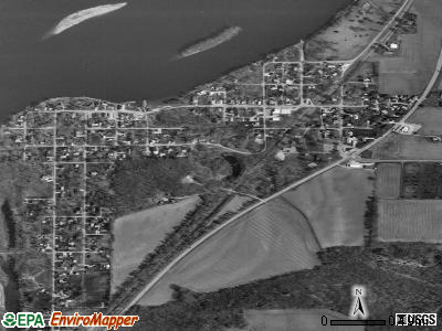 Cordova satellite photo by USGS