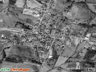 Whitesville satellite photo by USGS