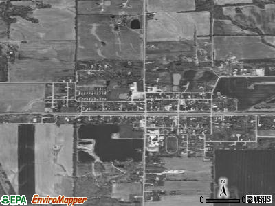 Woodlawn satellite photo by USGS