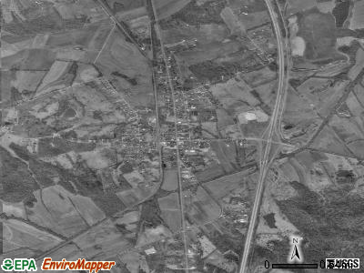 Gays Mills satellite photo by USGS