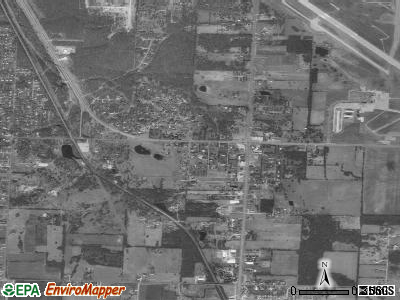 Airport Drive satellite photo by USGS