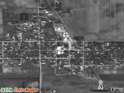 Sharpsville satellite photo by USGS