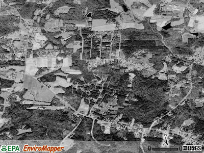 Sedalia satellite photo by USGS