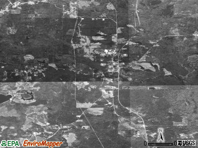 Millry satellite photo by USGS