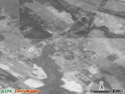 Roper satellite photo by USGS