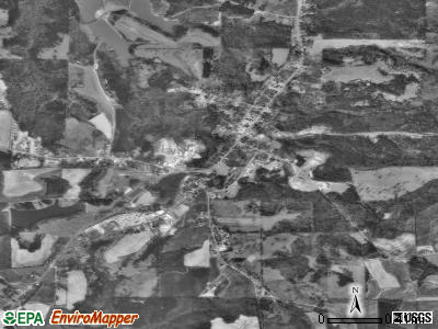 Louisville satellite photo by USGS