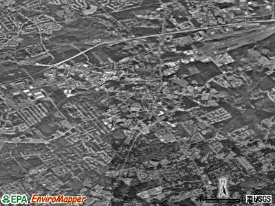 Lawrenceville satellite photo by USGS