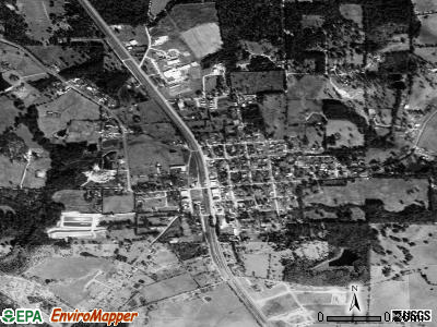 Lovelady satellite photo by USGS