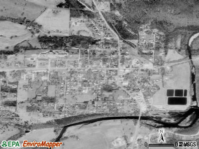 Hartville satellite photo by USGS