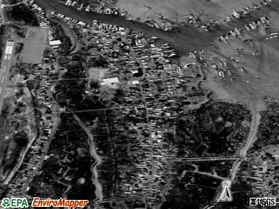 Tangier satellite photo by USGS