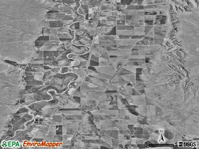 Washakie Ten satellite photo by USGS