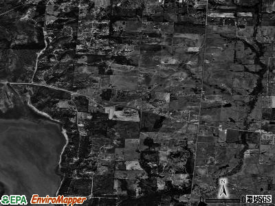 Cross Roads satellite photo by USGS