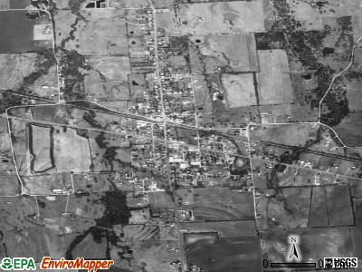Ector satellite photo by USGS