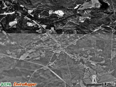 Whitesburg satellite photo by USGS
