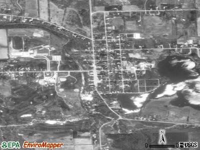 Byron satellite photo by USGS