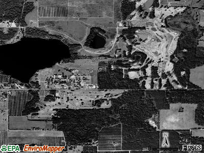 St. Leo satellite photo by USGS