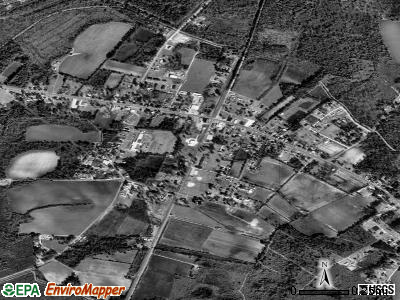 Harleyville satellite photo by USGS