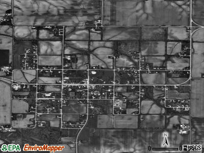 Andover satellite photo by USGS