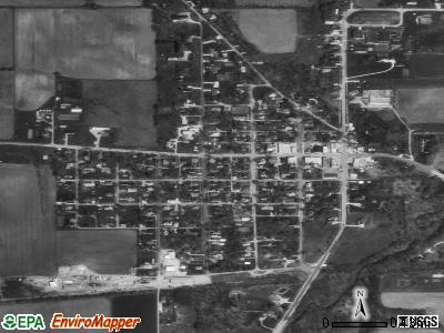 North Salem satellite photo by USGS