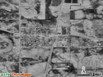Ellendale satellite photo by USGS