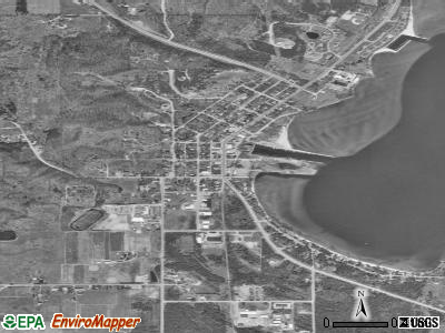 Annville satellite photo by USGS