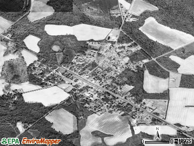 Brunson satellite photo by USGS