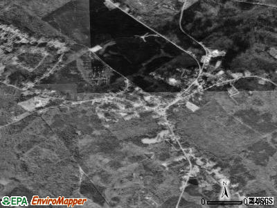 Irwinton satellite photo by USGS
