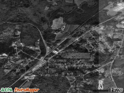 Wilton satellite photo by USGS