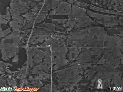 Springer satellite photo by USGS