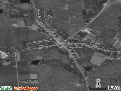Bendersville satellite photo by USGS