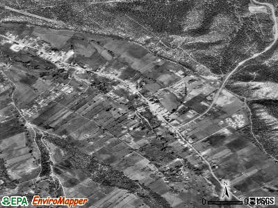 Penasco satellite photo by USGS